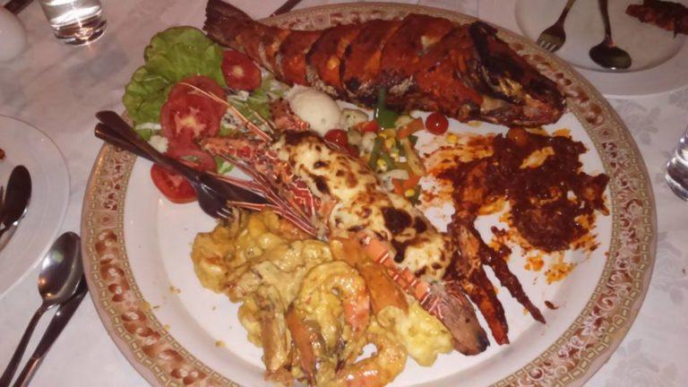 Goan Seafood Platter