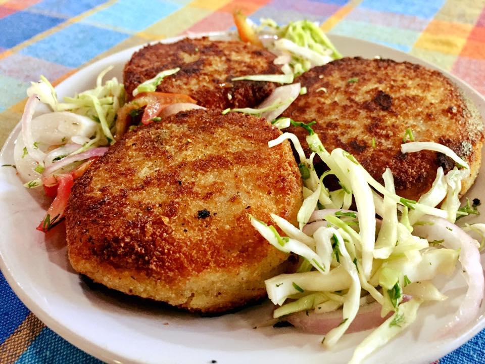 Prawn Potato Chops Recipe