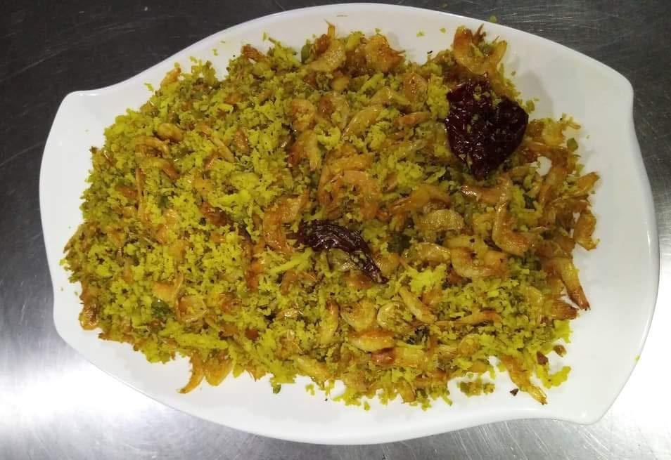 Dry Prawns Kismur Recipe